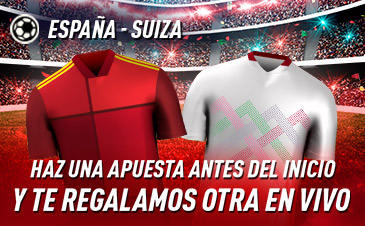 Apuesta España Suiza