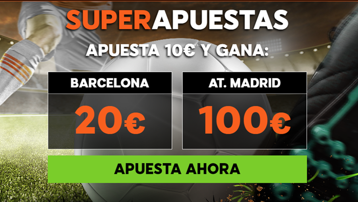 888Sport: ¿Barça @2.0 vs. At. Madrid @10.0?
