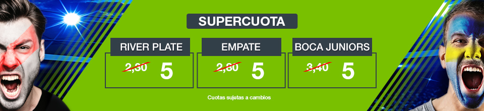 Codere: Supercuota River vs. Boca