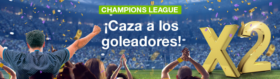 Codere: Champions League. Multiplicamos x2 tus ganancias