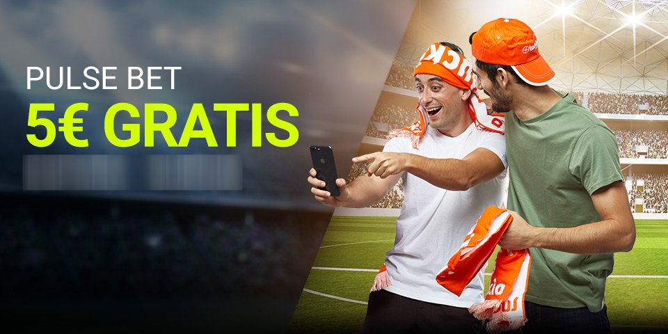 Luckia: 5€ GRATIS con tu Pulse Bet