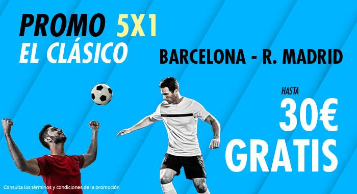 Suertia: FC Barcelona vs. Real Madrid. Haz tu apuesta y llévate hasta 30€ GRATIS