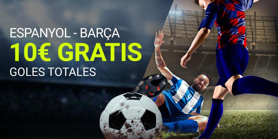 Luckia: Espanyol - Barça. Apuesta segura