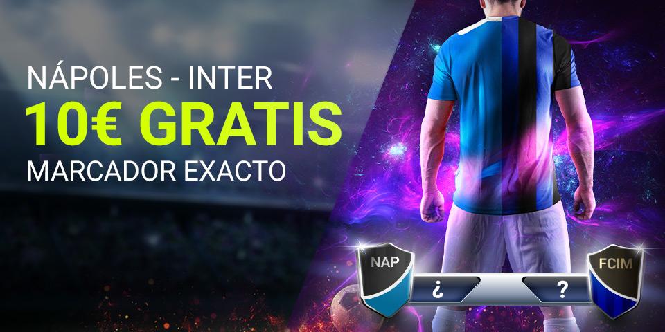 Luckia: Nápoles - Inter. Marcador seguro