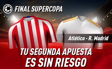 Sportium: Real Madrid – At. Madrid. Tu 2ª apuesta ¡¡¡SIN RIESGO!!!