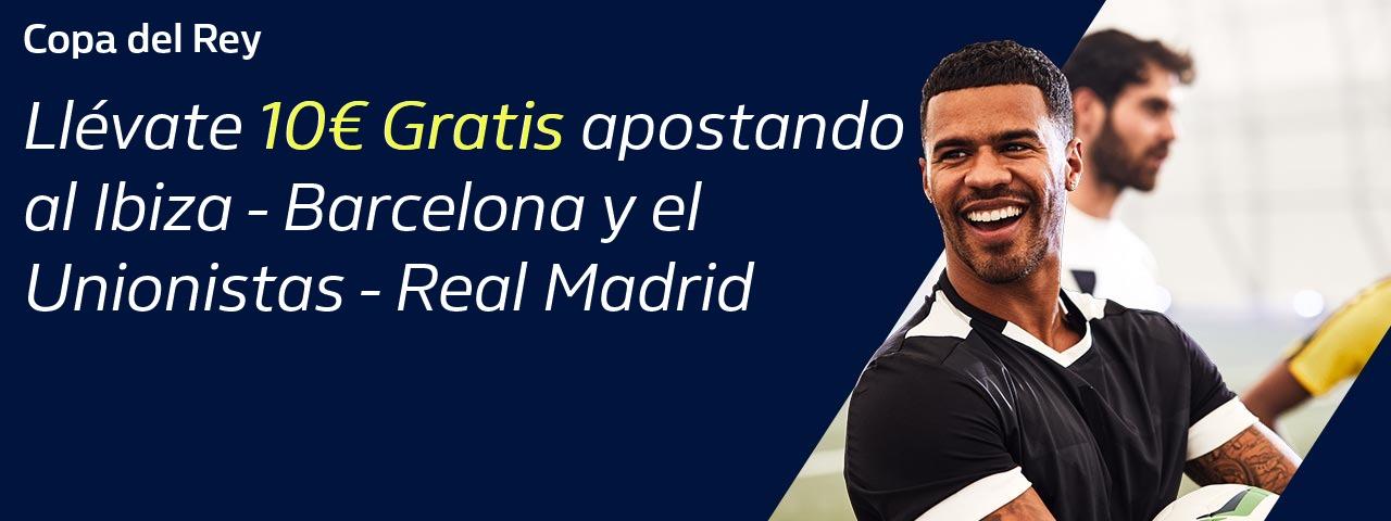 William Hill: Real Madrid + FC Barcelona. Llévate 10€ GRATIS