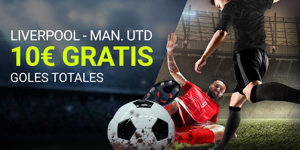 Luckia: Liverpool - Manchester United. Apuesta segura
