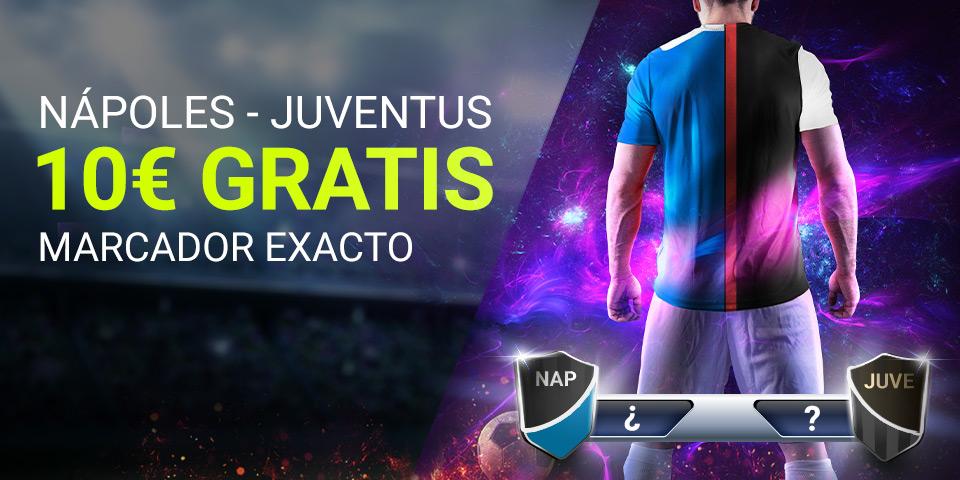 Luckia: Nápoles - Juventus. Marcador seguro