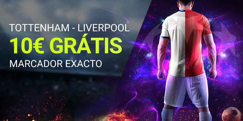 Luckia: Tottenham - Liverpool. Marcador seguro