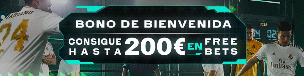 Codere: Bono de Bienvenida - Hasta 200€ en Freebets
