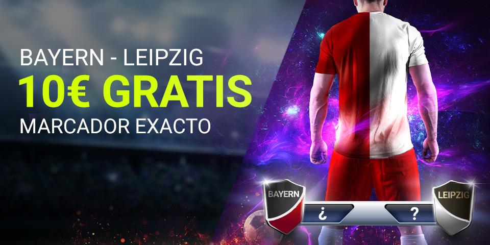 Luckia: Bayern Munich - Leipzig. Marcador seguro