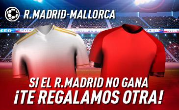 Sportium: Real Madrid - Mallorca. Si el Madrid no gana ¡Devolución!