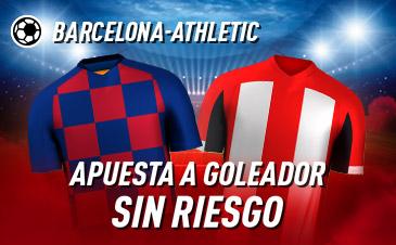 Sportium: FC Barcelona – Ath. Bilbao. Haz tu apuesta a GOLEADOR ¡SIN RIESGO!