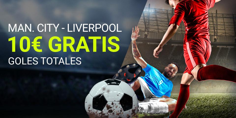 Luckia: Manchester City - Liverpool. Apuesta segura