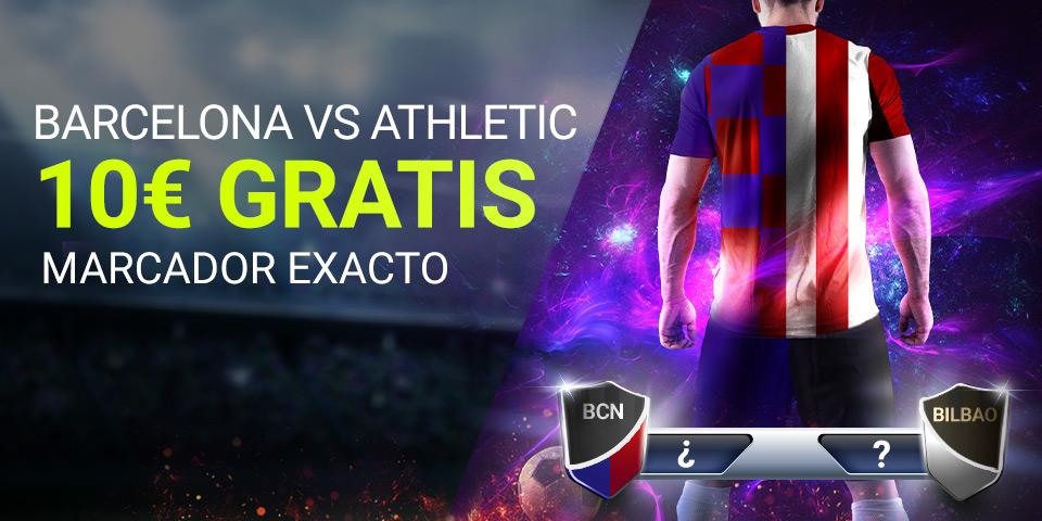 Luckia: FC Barcelona – Ath. Bilbao. Marcador seguro