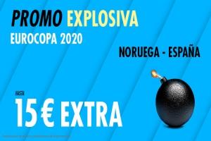 Suertia: Noruega vs. España. Llévate 15€ EXTRA con tu apuesta