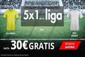 Suertia: Villarreal vs. Madrid. Apuesta y llévate hasta 30€ GRATIS