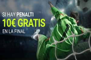 Luckia: Final del Mundial. Llévate 10€ si hay penalti