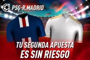 Sportium: PSG vs. Real Madrid. Tu 2ª apuesta ¡¡¡SIN RIESGO!!!