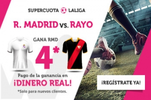 Wanabet: Madrid @4.0 vs. Rayo + 200€
