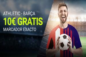 Luckia: Ath. Bilbao vs. FC Barcelona. Apuesta segura