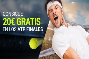 Luckia: Llévate 20€ en los ATP Finales