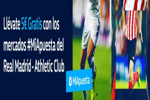 William Hill: Real Madrid vs. Ath. Bilbao. #MiApuesta Llévate 5€ GRATIS