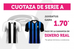 Wanabet: Juventus @1.70 vs. Inter