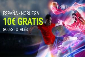 Luckia: Noruega vs. España. Apuesta seguro
