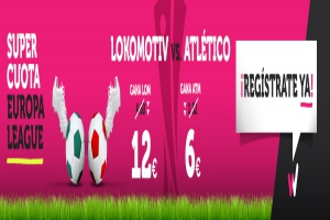 Wanabet: ¿Lokomotiv @12.0 vs. At. Madrid @6.0? + 200€