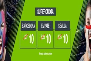 Codere: Supercuota Barça vs. Sevilla + 350€