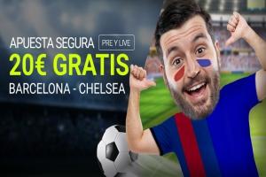 Luckia: Barça vs. Chelsea. Apuesta segura