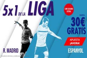 Suertia: Real Madrid vs. Espanyol. Apuesta y llévate hasta 30€ GRATIS