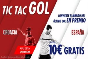 Suertia: Croacia vs. España. Haz tú apuesta y llévate hasta 10€ GRATIS