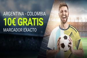 Luckia: Argentina vs. Colombia. Apuesta segura