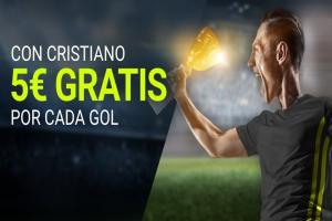 Luckia: Juventus vs. Nápoles. 5€ por cada gol de Cristiano