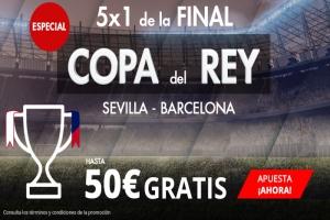 Suertia: Final Copa. Barça vs Sevilla. Haz tu apuesta y llévate hasta 50€ GRATIS