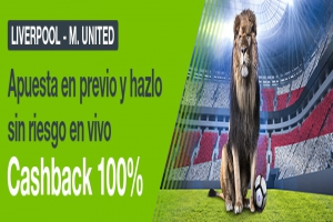 Codere: Liverpool vs. Man. United. Apuesta blindada
