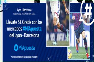 William Hill: Regístrate y llévate hasta 150€ + 10€ por cada gol en el Lyon vs. Barça