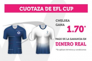 Wanabet:  Chelsea @1.70 vs. Tottenham