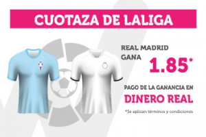 Wanabet: Celta vs. Madrid @1.85