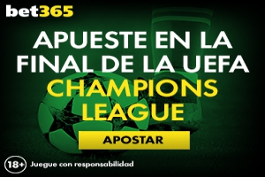 Bet365: Final Champions. El Madrid favorito para ganar la 12+1