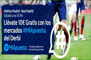 William Hill: At. Madrid vs. Real Madrid. #MiApuesta Llévate 10€ GRATIS