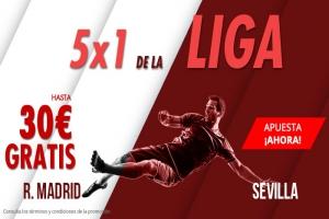 Suertia: R. Madrid vs. Sevilla. Apuesta y llévate hasta 30€ GRATIS