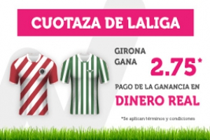 Wanabet: Girona @2.75 vs. Betis