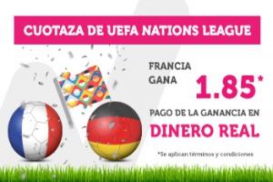 Wanabet: Francia @1.85 vs. Alemania