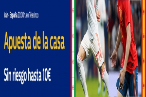 William Hill: Irán vs. España. Apuesta de la casa