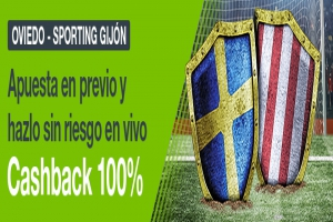 Codere: Oviedo vs. Sp. Gijon. Apuesta blindada