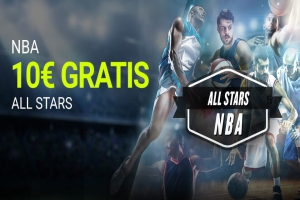 Luckia: All-Star NBA. Llévate 10€ por tus apuestas