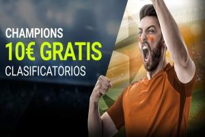 Luckia: Previa Champions League. Llévate 10€ ¡¡¡GRATIS!!!